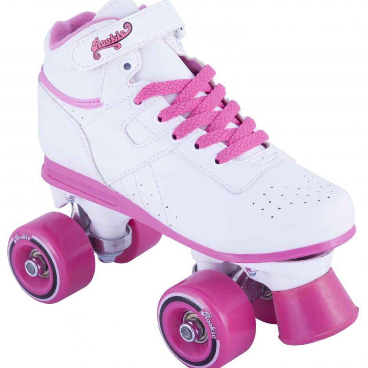 Rookie roller skates amazon - Rookie Odyssey Child Roller Skates White Pink Amazon Co Uk Toys Games