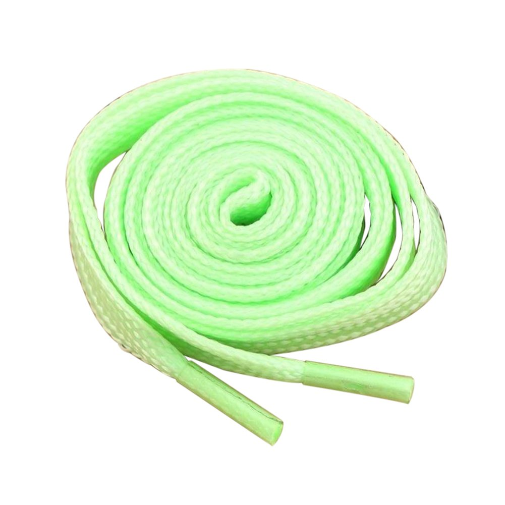 Shineweb Light Up Shoelaces, 1 Pair Lace Polyester Neon Color Fluorescent Shoelaces for Dancing Hip-hop Cycling Running Hiking Skating Sport Pink 140cm