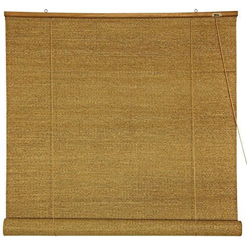 (Oriental Furniture Woven Jute Roll Up Blinds - (36 in. x 72 in.) )