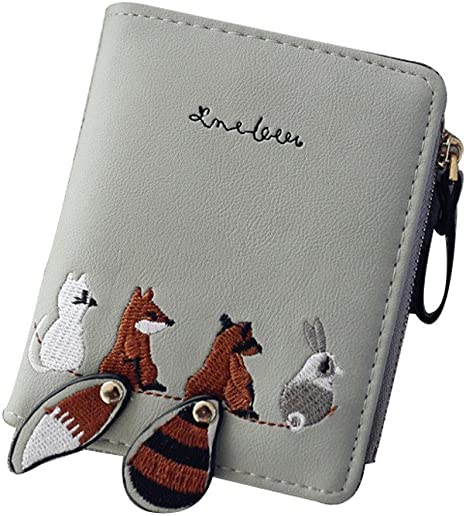 Coin Purse Animal Lovly Owl With Scarf wallet change Purse with Zipper Wallet Coin Pouch Mini Size Cash Phone Holder