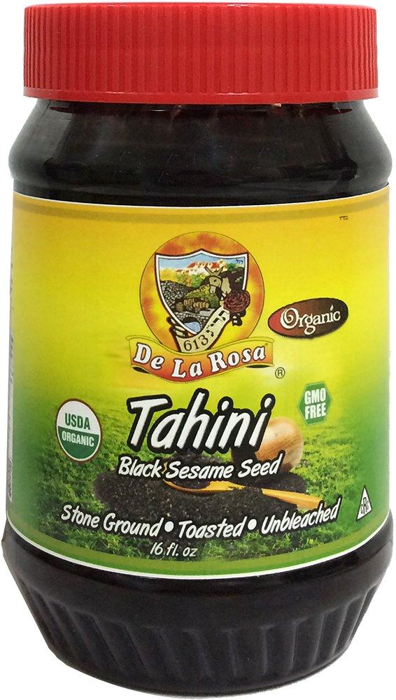 De La Rosa Kosher Organic Black Sesame Seed Tahini - 16 fl. oz