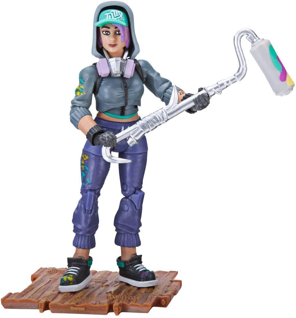 Fortnite Solo Mode Core Figure Pack Raptor Action & Toy Figures ...