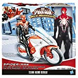 Spider-Man Marvel Ultimate Spider-Man Web Warriors Spider-Man with Web Net Cycle Action Figure