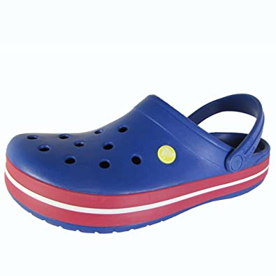 Crocband Clog Cerulean Blue/Pepper Men's 11 US M/Women's 13 US M