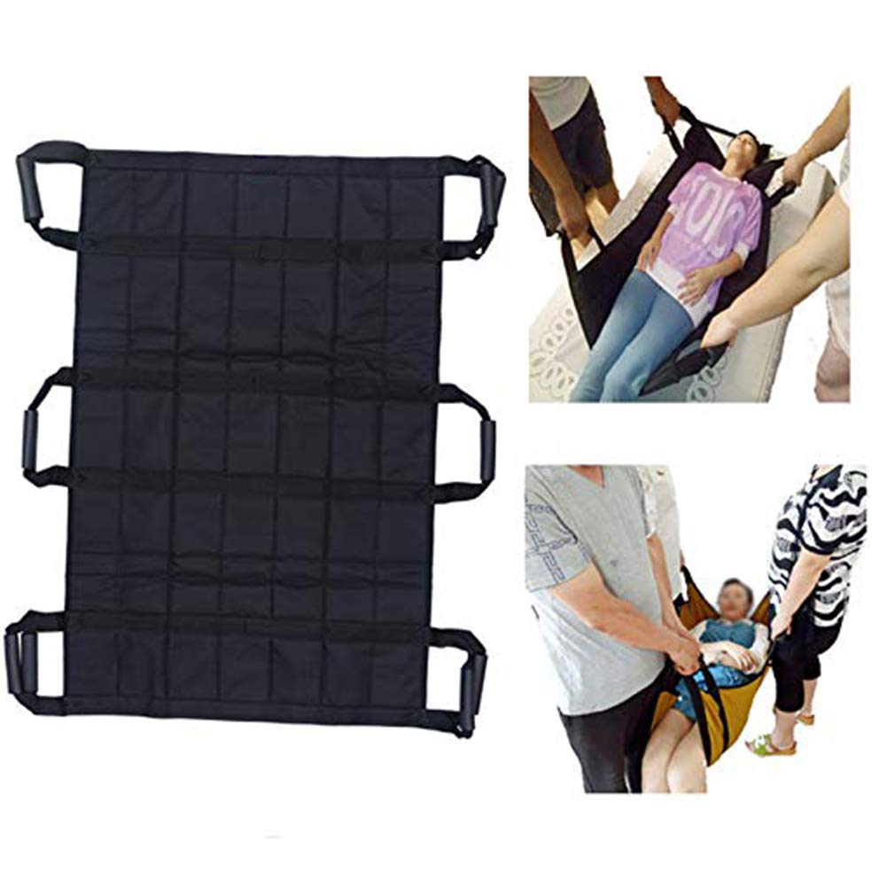 Sliding Medical Sling Lifting Protective Safety Nursing Transfer Board Pad Sheet Turner Belt, Mobility Equipment Care, for Hospital Elderly Bed Patients by SHKY