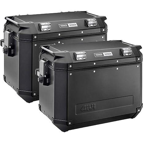 Amazon.com: Givi obk48bpack2 Outback Negro Casos 48 Litro ...