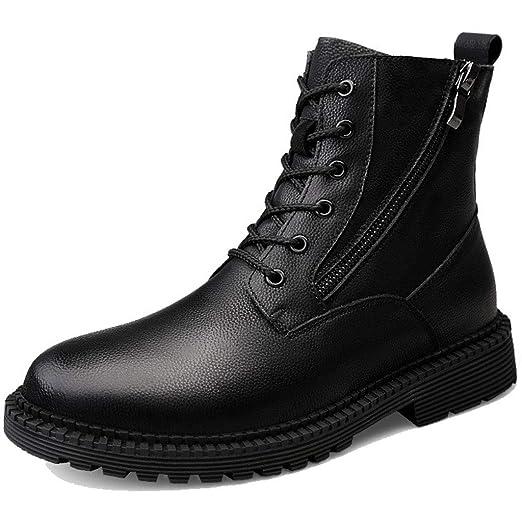 GOAIJFEN Zapatos Impermeables para Hombre Botines Botas de ...