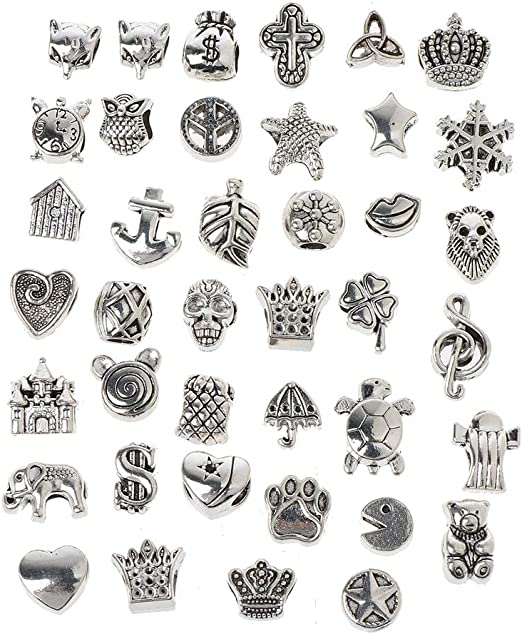 100 Pièces Perles Mixte Bricolage Artisanat Fabrication De Bijoux Bracelet