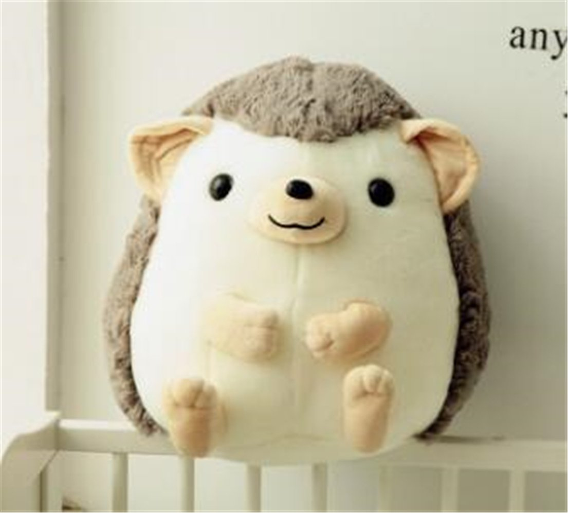 Tmrow 1pc 30cm Children Simulation Animal Plush Toy Hedgehog Stuffed Dolls (Gray) by Tmrow