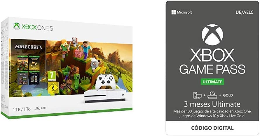 Xbox One S Consola 1 TB + División 2 + 3 Meses   Xbox Game Pass ...