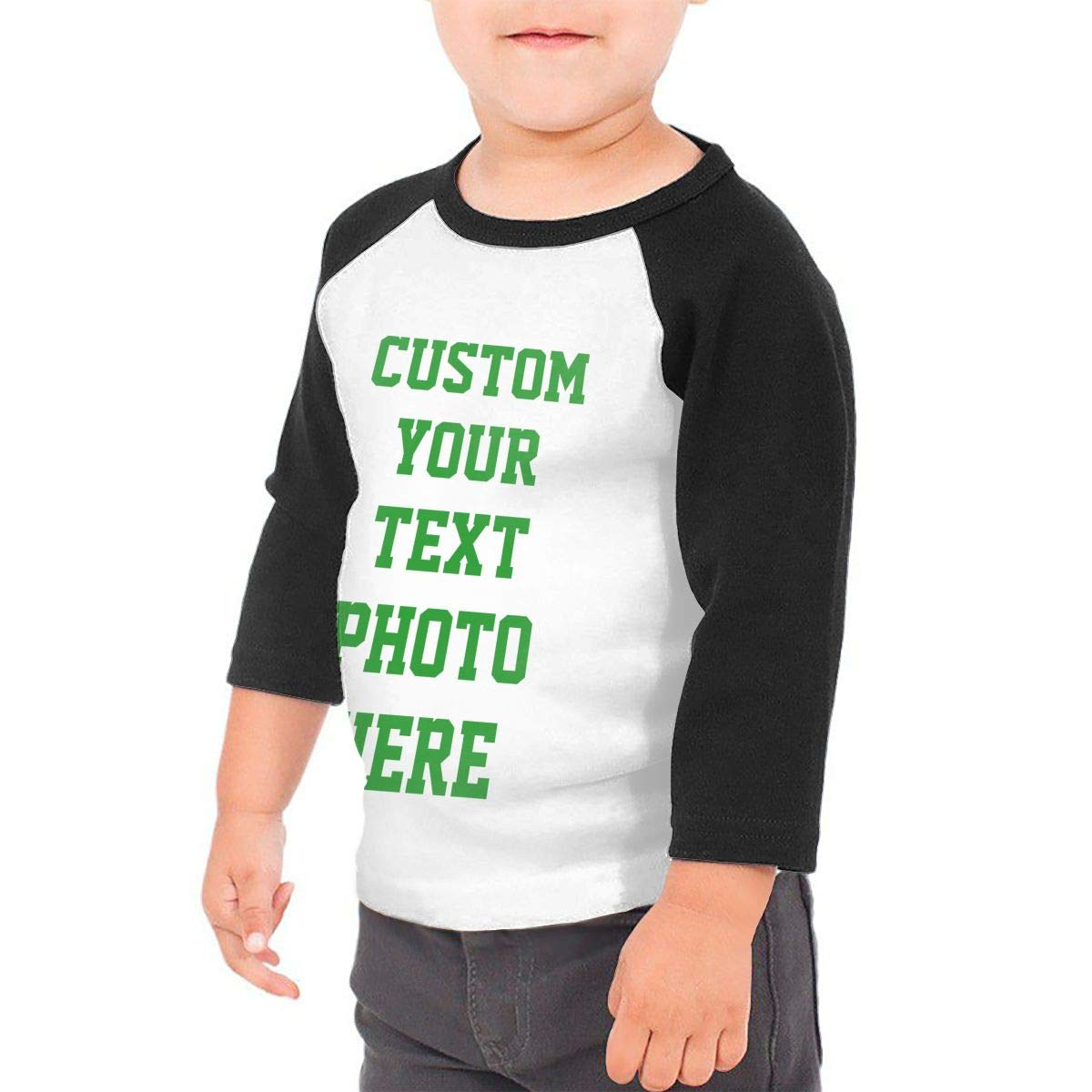Custom Shirts for Toddlers Design Your OWN Babys Shirt Personalized Baby Childrens T-Shirt