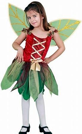 DISFRAZ Hada del bosque TALLA 10-12 AÑOS: Amazon.es: Juguetes y juegos
