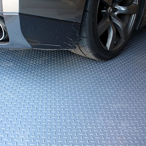 IncStores Nitro Commercial Grade Garage Flooring Rolls Coin & Diamond Roll Out Utiliy Floor Mats by IncStores (Image #4)