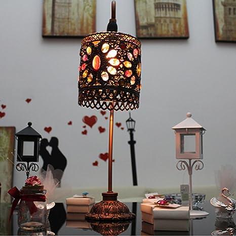 TL- Lámpara de mesa Lámpara de escritorio retro ...
