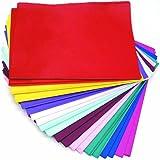 CI Tissue Lot de 480feuilles de papier de soie Couleurs assorties 50 x 76cm