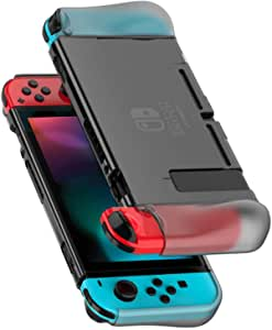 UGREEN Protective Case Compatible for Nintendo Switch 2017, Dockable Grip Case Cover Protector Accessories Anti-Scratch Shock-Absorption