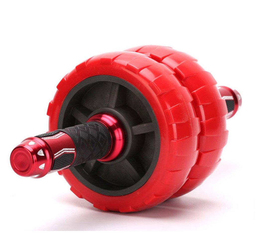 Ab Roller Wheel Exercise und Fitness Wheel mit einfachen Griffen Griffe und Stummschaltung für Bauch Workout