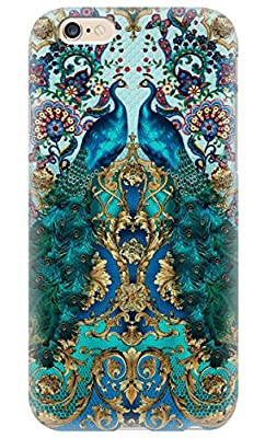 iPhone 6 case Unique designed cover for iphone 6 Peacock Couple PC cover for iphone 6 Perfect Design Phone Case cover for iphone But unfit iphone 5/5s and 6 Plus from Leics