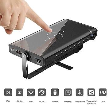 TOPQSC Mini Proyector Portátil, Reproducción HD 1080P, Soporte U ...