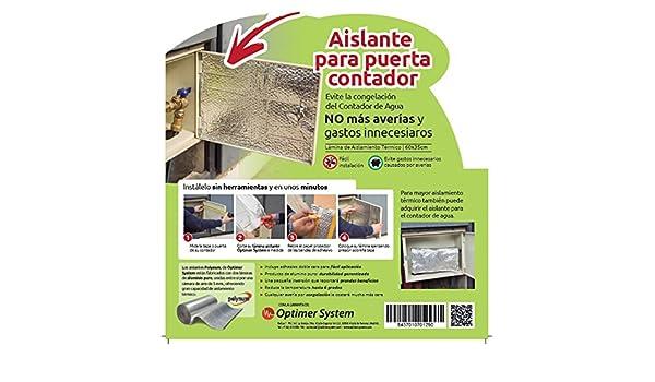 Aislante Puerta Contador Agua - 0,60 x 0,35 m Optim Home - Polynum ...