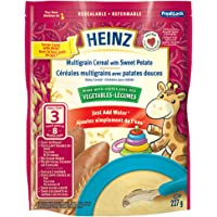 Heinz Multigrain Cereal with Sweet Potato, 227g (Pack of 6)