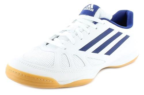 adidas Tt10 - Zapatillas para Deportes de Interior de sintético para Hombre Blanco Blanco, Tt10