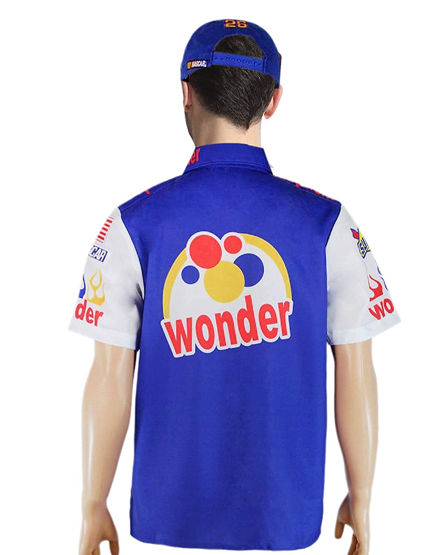 Ricky Bobby Nascar Shirt Talladega Nights Crew #26 Wonder Bread Cap hat