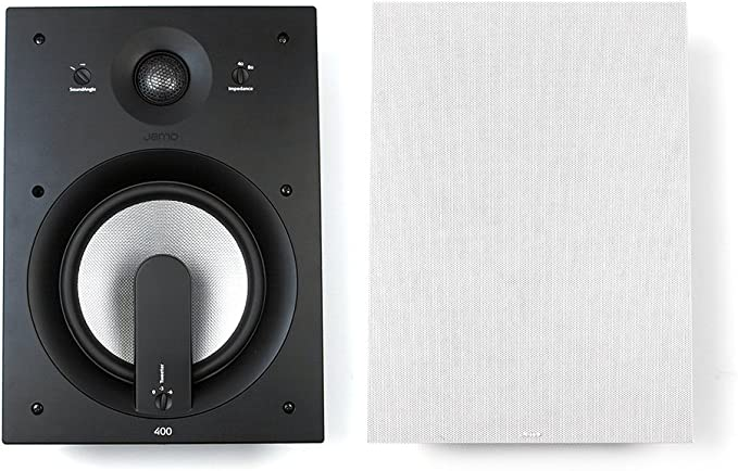 Jamo IC 408 - Pack de altavoces de pared, color blanco: Amazon.es ...