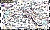 #8: Streetwise Paris Metro Map - Laminated Metro Map of Paris, France (Michelin Streetwise Maps)