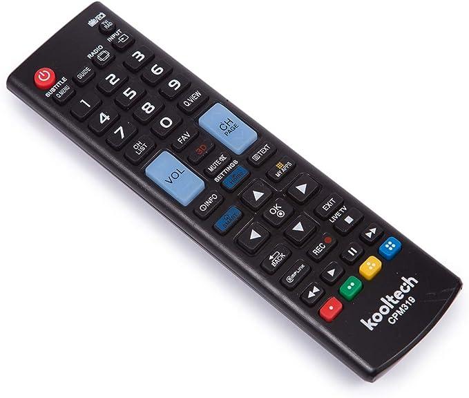 Mando a Distancia Universal para TV LG CPM319: Amazon.es: Electrónica