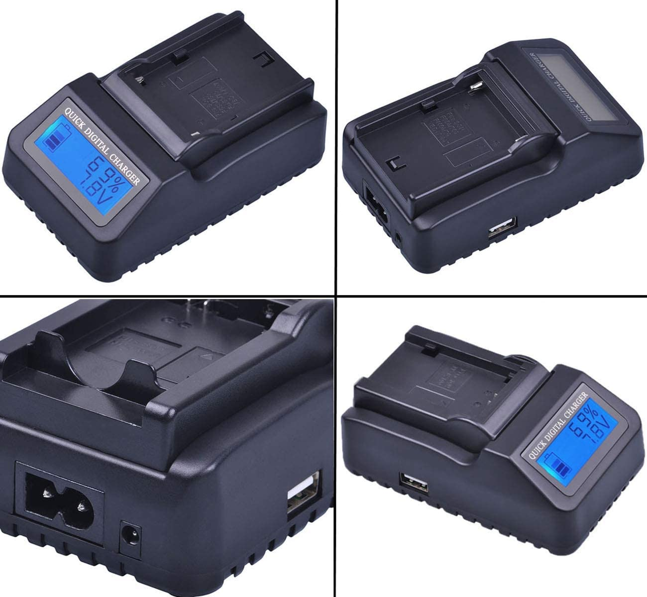 GZ-MG330U GZ-MG430U GZ-MG670U GZ-MG630U GZ-MG680U GZ-MG730U Camcorder GZ-MG230U Battery Charger for JVC Everio GZ-MG130U GZ-MG360U GZ-MG340U GZ-MG650U