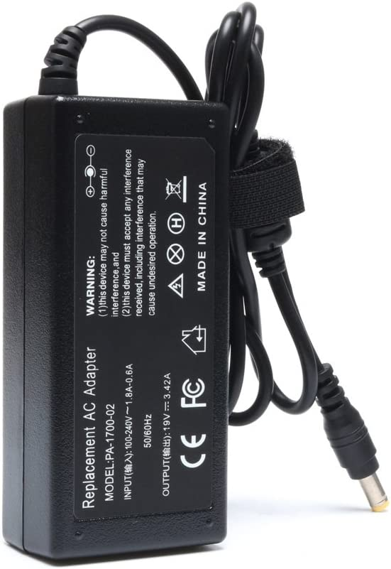 65W Laptop Adapter for Acer Aspire 5532 5349 5750 5742 5250 5253 5733 5534 5336 5552 5560 7560 SB416 AS7750 6423 V5 V7 V3 R3 R7 S3 E1 M5 Series Power Supply Cord