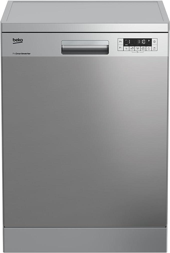 Beko DFN26220X lavavajilla - Lavavajillas (Independiente, Acero ...