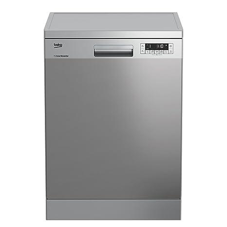Beko DFN26220X lavavajilla - Lavavajillas (Independiente, Acero inoxidable, Botones, 46 Db, A, 70 °C)