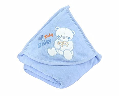 Baby Toalla con capucha oso Toalla con manopla azul azul Talla:85 x 85 cm