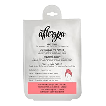 Amazon.com : Daily Concepts AfterSpa Hair Towel Wrap (Polyester) : Beauty