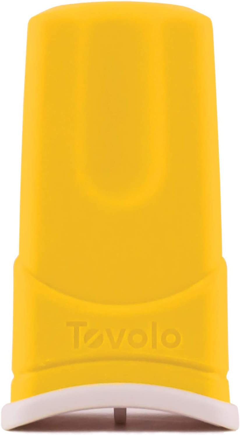 Tovolo Silicone Butter Sleeve, Mess-Free Butter Application, Dishwasher Safe, 1 Stick Capacity