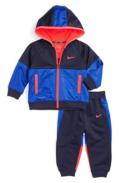 12e79f9ba Amazon.com : Nike Baby Boys` Therma-Fit Hoodie and Jogging Pants 2 ...