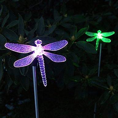 Solar Garden Ornament Gartendeko Light House Jug with Birds and LED 15 cm 563