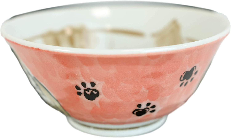 Ebros Gift Made In Japan Auspicious Lucky Meow Cat Maneki Neko 6 Diameter 16oz Ramen Soup Rice Pasta Salad Cereal Appetizer Bowls Set Of 6 Dining Japanese Restaurant Supply Or Decorative Bowl