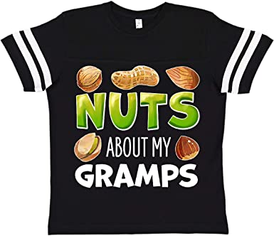 Pistachio Baby T-Shirt inktastic Nuts About My Gramps Peanut Almond