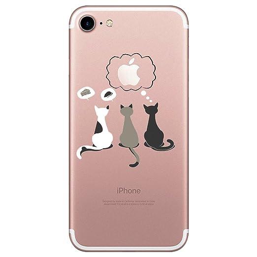 4 opinioni per Qissy® TPU Cover iPhone 7 (4.7 inch)Case marche popolari Anti-scratch Gel