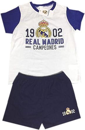 Pijama Real Madrid Verano Adulto