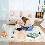 Baby Play mat, playmat, Baby mat Folding Extra Large Thick Foam Crawling playmats Reversible Waterproof Portable playmat for