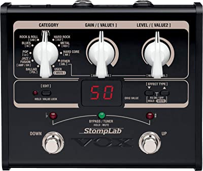 VOX StompLab 1G Multi Effects Pedal