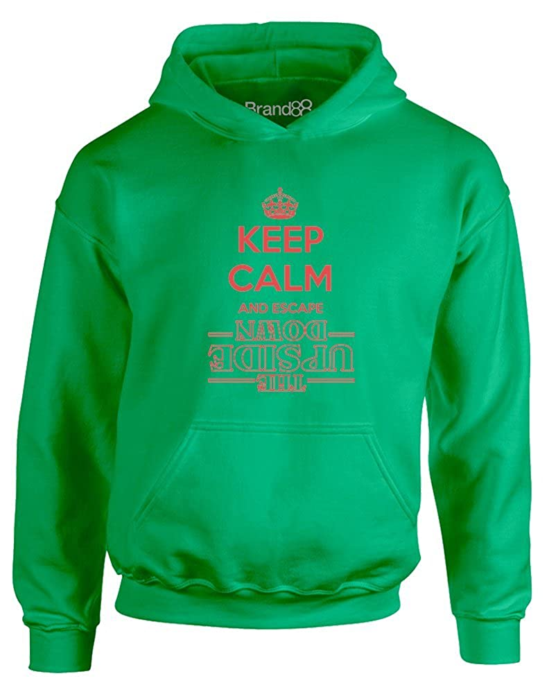Brand88 Keep Calm and Escape, Kids Hoodie JH01J_AZ018