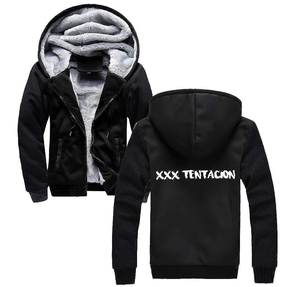 Xxxtentacion Keep Warm in Winter Plus Velvet Thicken Loose Casual Unisex Coat