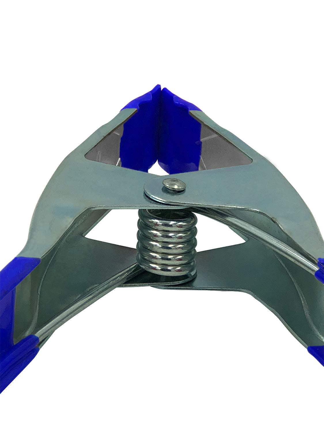 Lot of 12, 9'' inch Spring Clamp Supersize Heavy Duty Spring Metal Blue Tip by FactorDuty (Image #4)