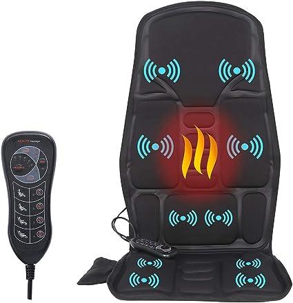 SLOTHMORE Vibration Back Massager, Back Massage Cushion - Excellently Designed Massage Cushion