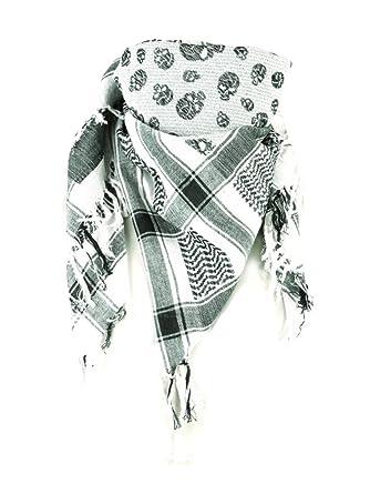 9796f4546afb OLP bandana motif tête de mort gris-gris  Amazon.fr  Vêtements et ...